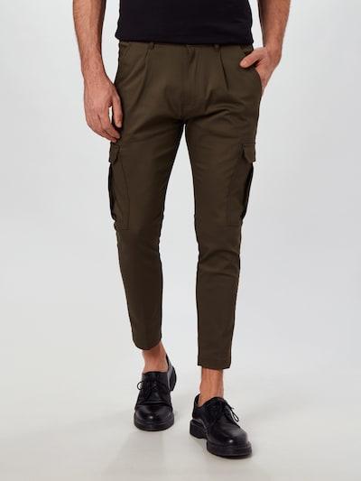 DRYKORN Klapptaskutega püksid 'LAGO' oliiv, Modellivaade