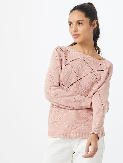 Hailys Pull-over en rosé, Vue avec modèle