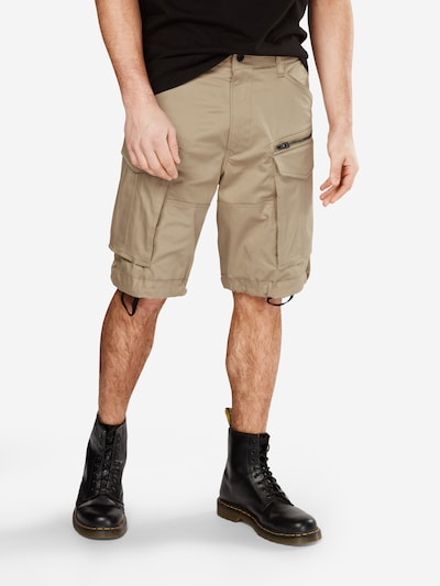 Pantaloni cu buzunare 'Rovic' G-Star RAW pe bej, Vizualizare model