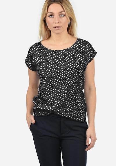 Blend She Shirtbluse 'Amarena' in schwarz, Modelansicht