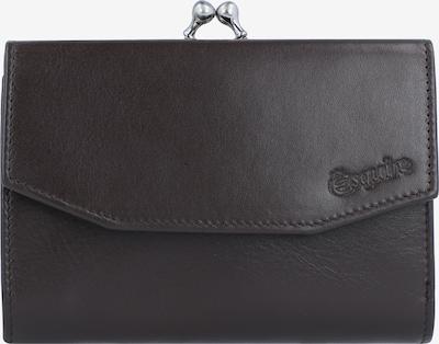 Esquire Geldbörse in dunkelbraun, Produktansicht