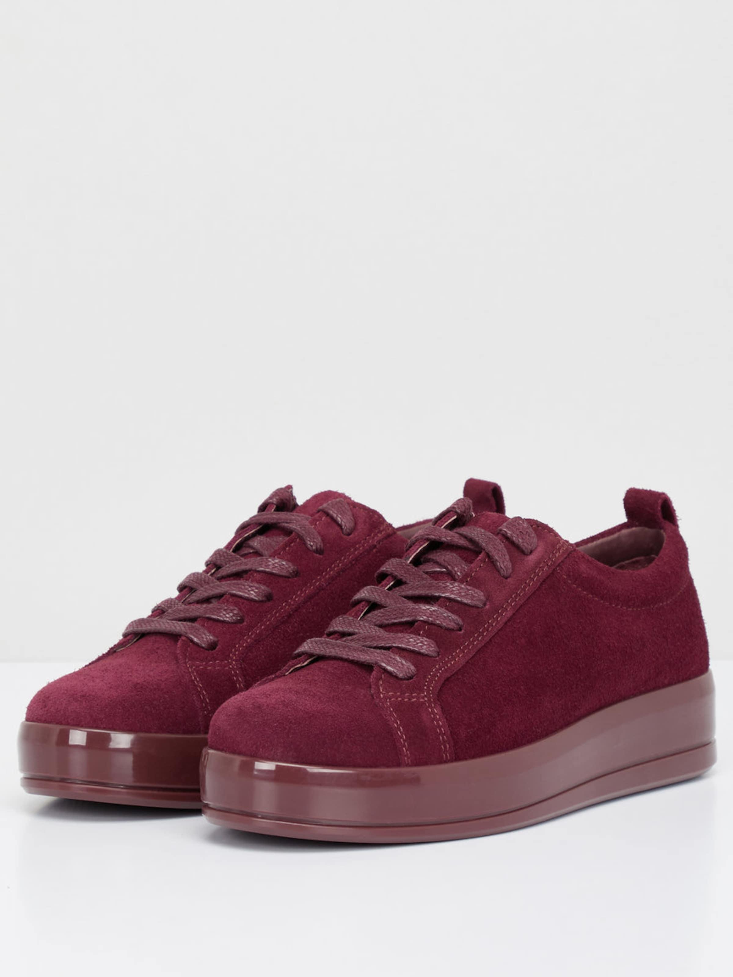 Wirklich Online Verkauf Mit Kreditkarte Bianco Flachform Sneaker aus Veloursleder Qualität Outlet-Store Rabatt-Spielraum Qualität Frei Versandstelle 61gr41fTt