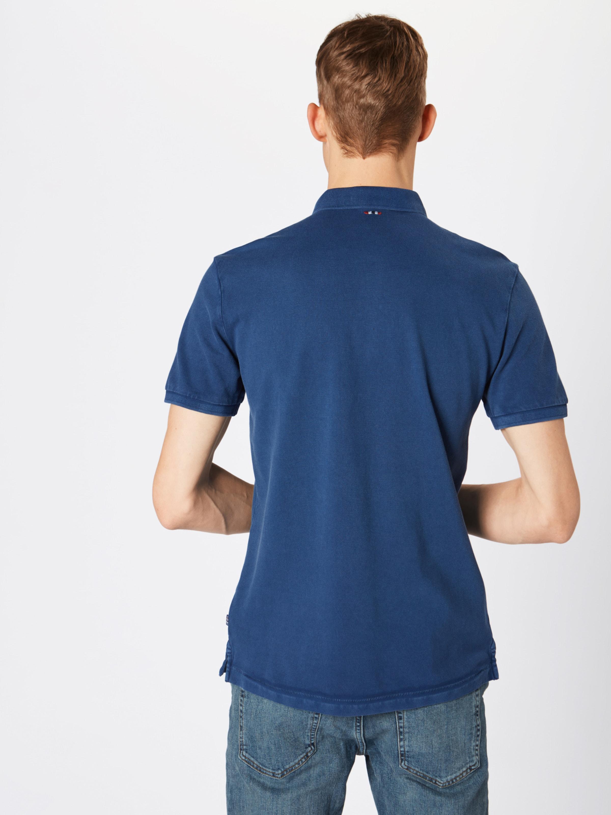 Napapijri Dunkelblau 'elbas Poloshirt In 2' PZTOiukX