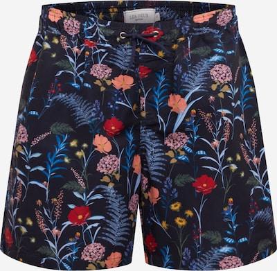 Les Deux Plavecké šortky 'Fleur D'été' - námornícka modrá / zmiešané farby, Produkt