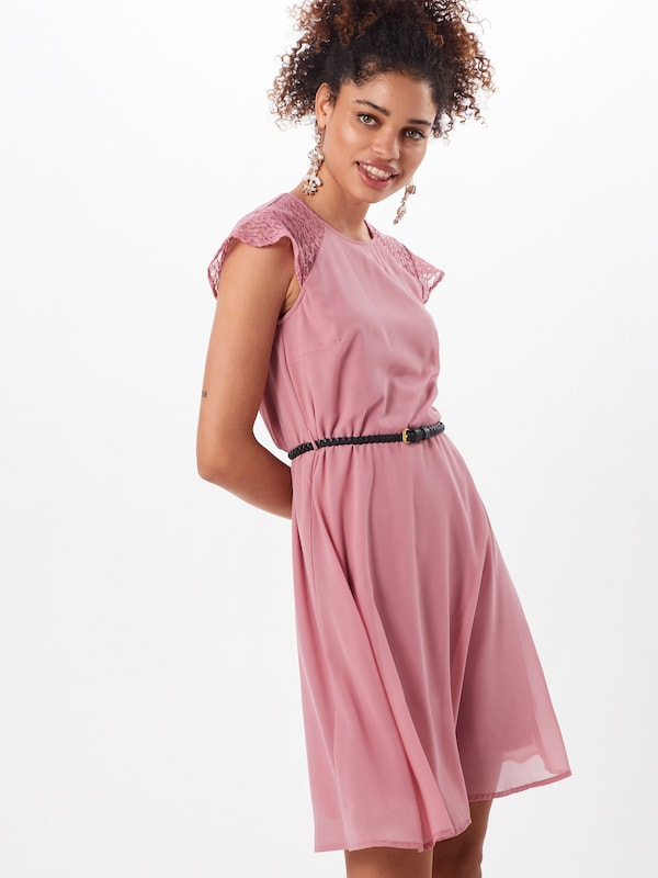 VERO MODA Kleid 'STEPHA' in pink: Frontalansicht