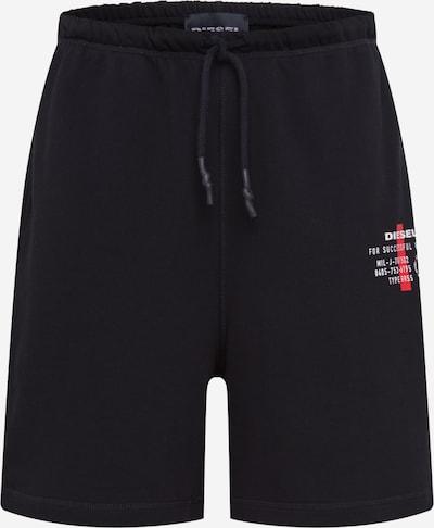 DIESEL Spodnie w kolorze czarnym: Widok z przodu