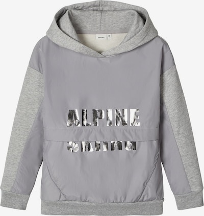 NAME IT Sweatshirt in grau / graumeliert, Produktansicht