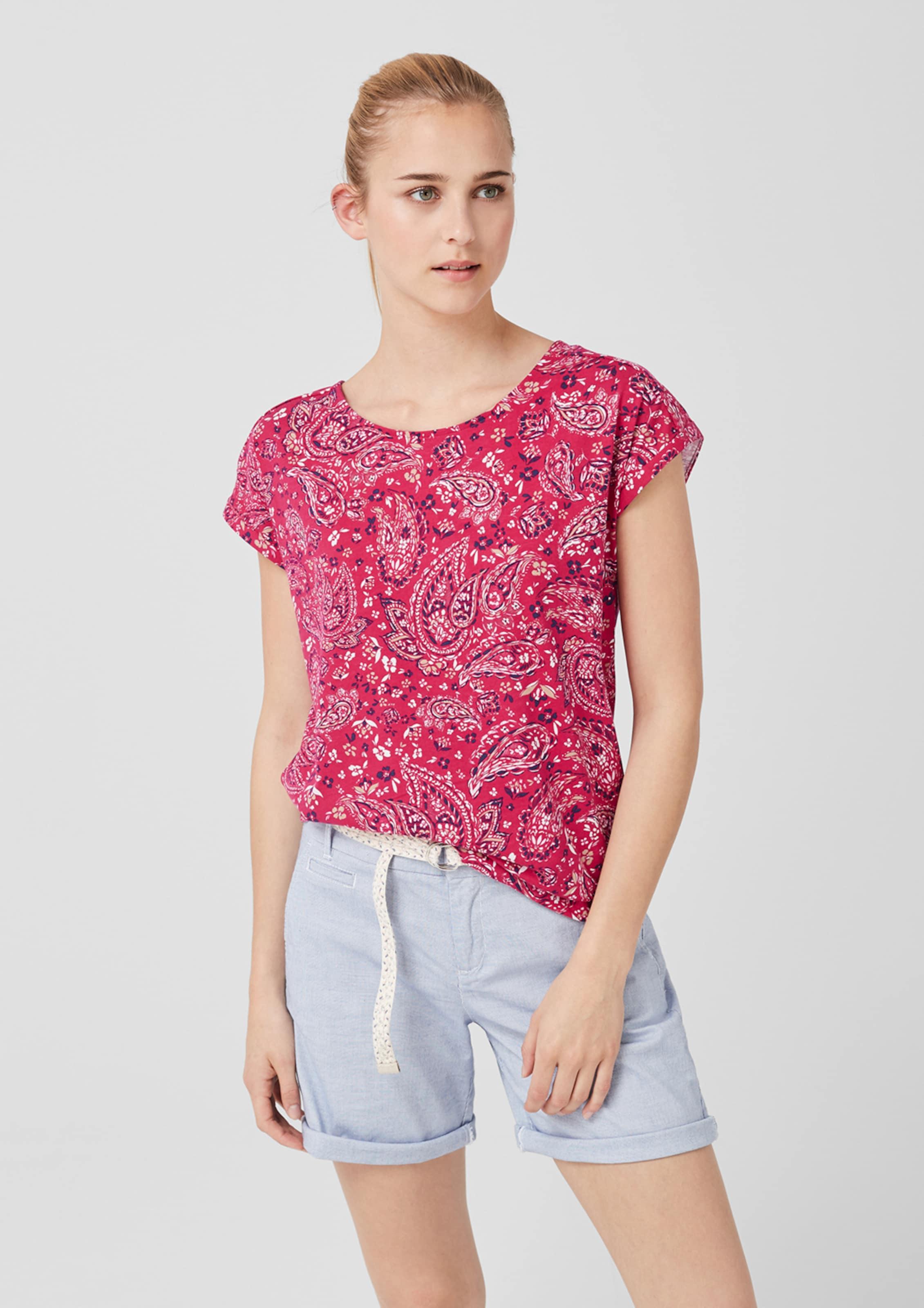 Label In Shirt MischfarbenNeonpink Red S oliver CWxEredBoQ