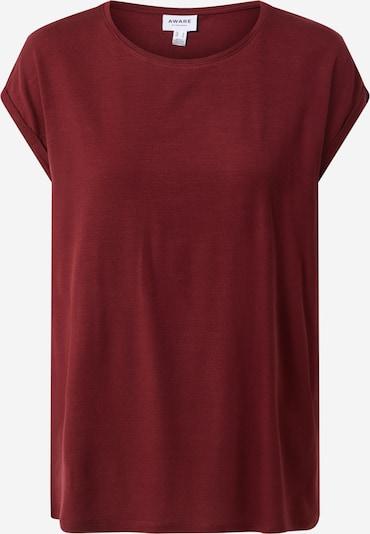 VERO MODA T-Shirt in bordeaux, Produktansicht