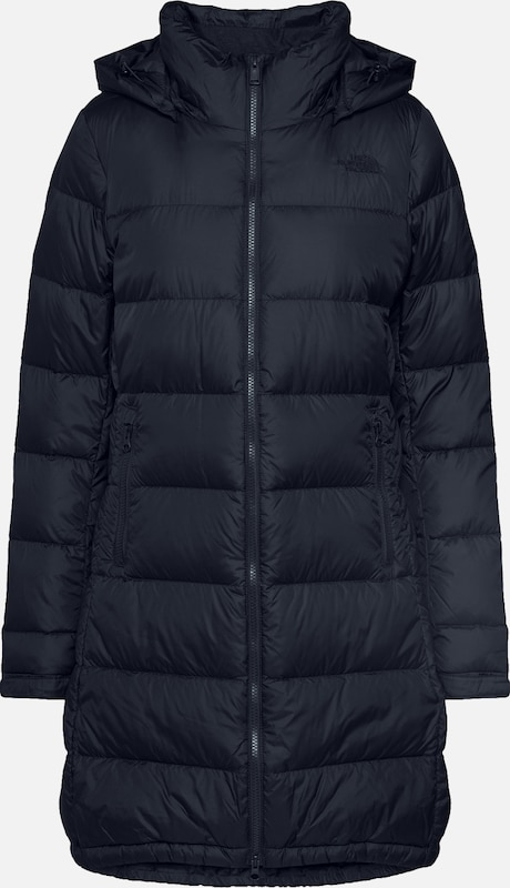 THE NORTH FACE Mantel 'Women's Metropolis Parka III' in schwarz, Produktansicht