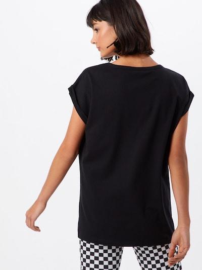 Urban Classics T-shirt 'Ladies' en noir: Vue de dos