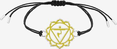 Nenalina Armband 'Chakra' in gelb / schwarz, Produktansicht