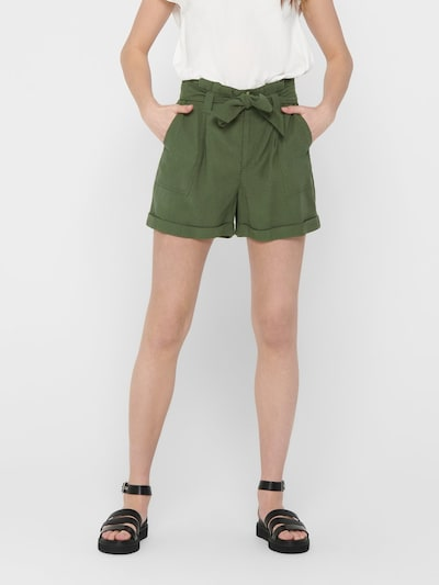 ONLY Shorts in khaki, Modelansicht