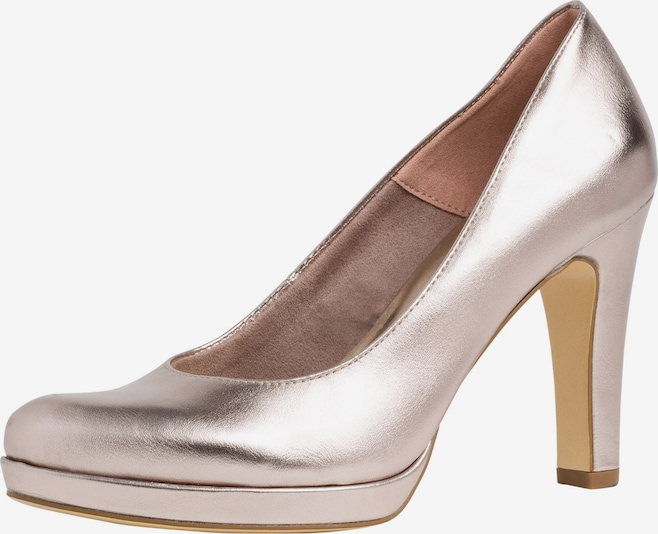 TAMARIS Pumps in rosegold, Produktansicht