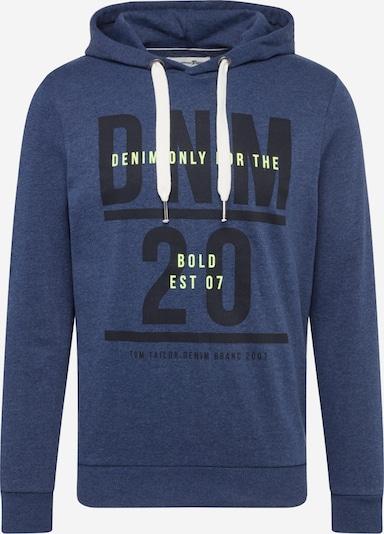TOM TAILOR DENIM Sweatshirt in dunkelblau, Produktansicht