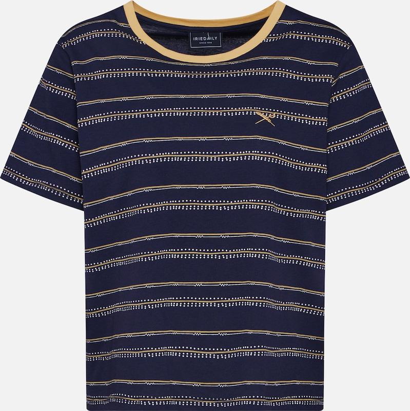 D'or Iriedaily MarineJaune 'ethny Bleu shirt En T Tee' FKcl1J