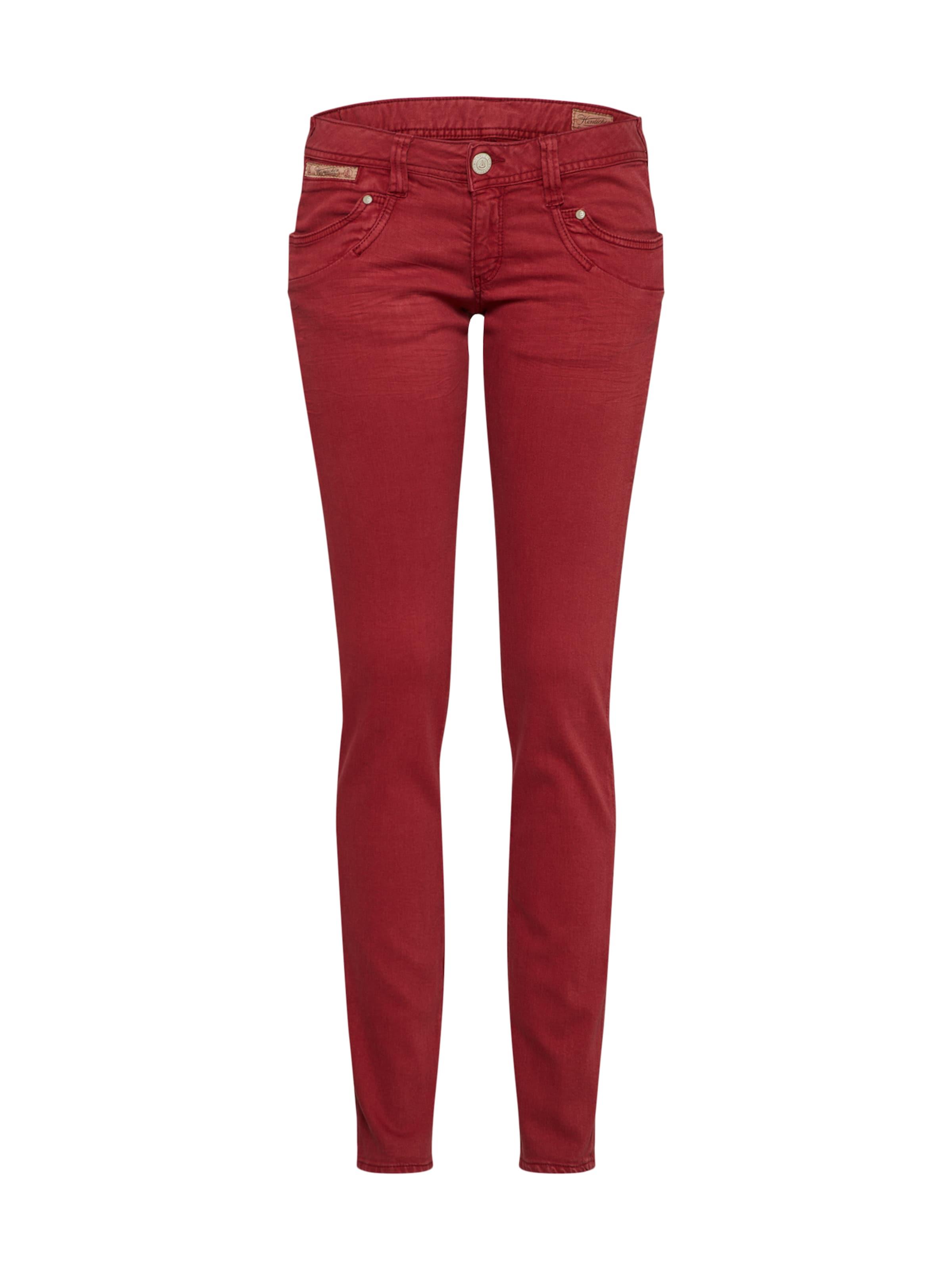 Slim' Herrlicher Rot In Jeans 'piper 3ALqj54R