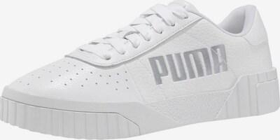 PUMA Sneaker 'Cali' in silber / weiß, Produktansicht