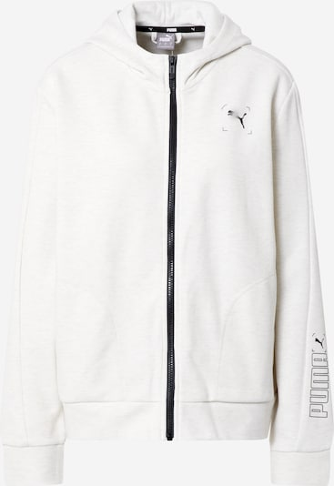 fekete / fehér PUMA Sport szabadidős dzsekik, Termék nézet