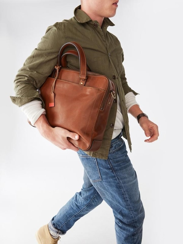 Fossil Messenger Bag Defender Double Zip
