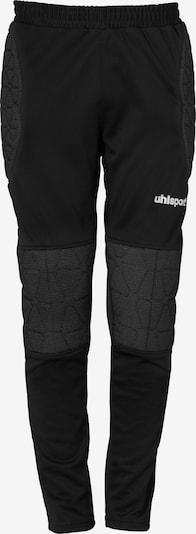 UHLSPORT Torwarthose 'ANATOMIC KEVLAR' in schwarz / weiß, Produktansicht