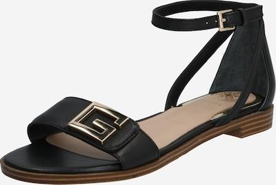 GUESS Sandales à lanières 'Rashida' en noir, Vue avec produit