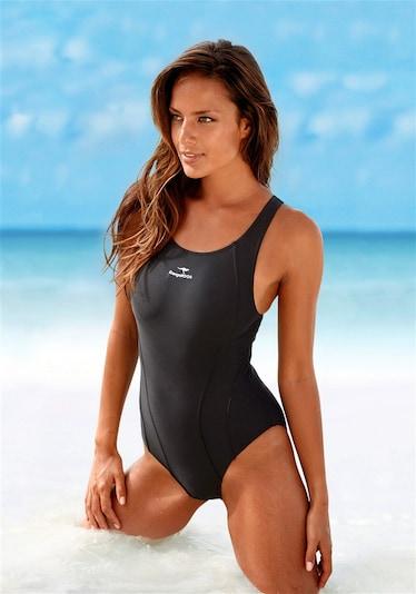 KangaROOS Badeanzug, Kangaroos in schwarz, Produktansicht