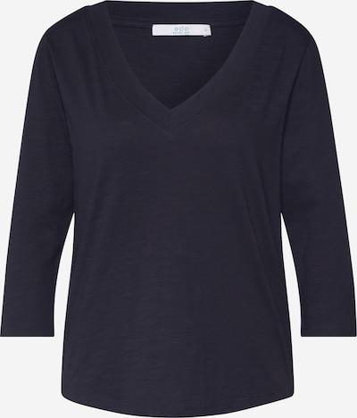 EDC BY ESPRIT Shirt 'CORE OCS Vneck' in schwarz, Produktansicht