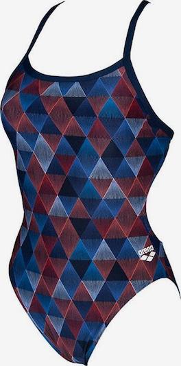 ARENA Badeanzug 'Linear Triangle Challenge Ba' in mischfarben, Produktansicht