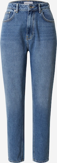 NU-IN Jeans 'High Rise Straight Jeans' in de kleur Blauw denim, Productweergave