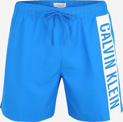 Calvin Klein Swimwear Zwemshorts in de kleur Blauw / Wit, Productweergave