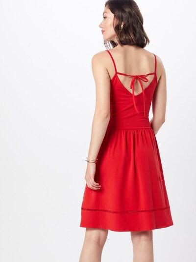 ONLY Kleid 'ONLADDY STRAP DRESS JRS' in rot: Rückansicht