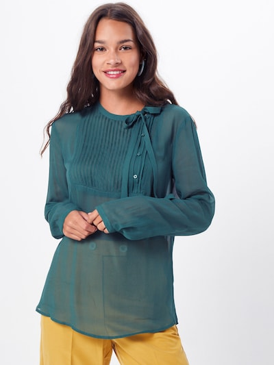UNITED COLORS OF BENETTON Blouse in de kleur Groen, Modelweergave