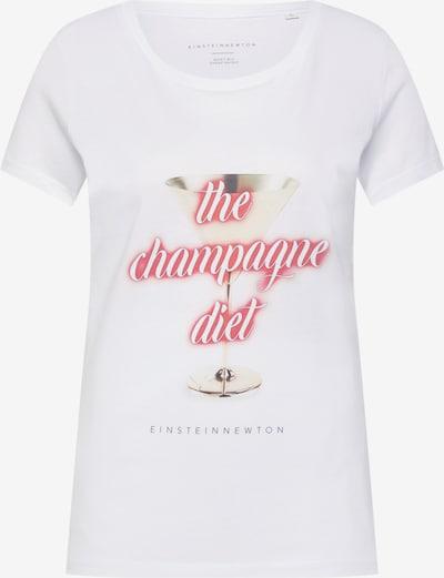 Marškinėliai 'Champagne Diet' iš EINSTEIN & NEWTON , spalva - rožinė / balta, Prekių apžvalga