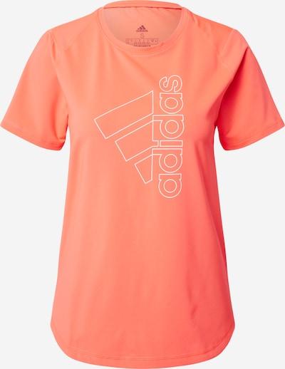 ADIDAS PERFORMANCE T-Shirt in koralle / weiß, Produktansicht
