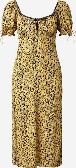 Motel Kleid 'Cello' in gelb / mischfarben, Produktansicht
