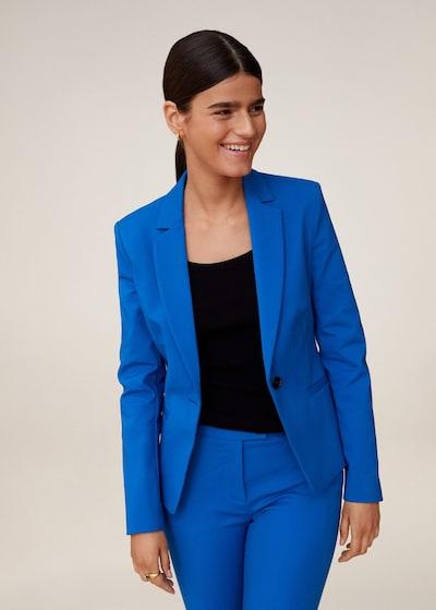 MANGO Blazer in blau, Modelansicht