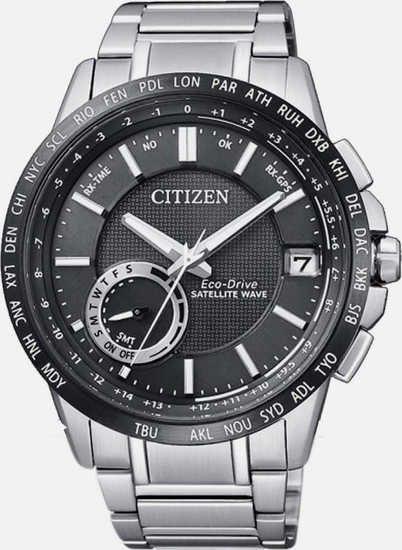 "CITIZEN Funkarmbanduhr mit GPS, ""CC3005-51E"""