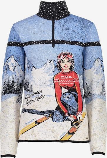 CMP Shirt ' Knitted Print ' in mischfarben, Produktansicht