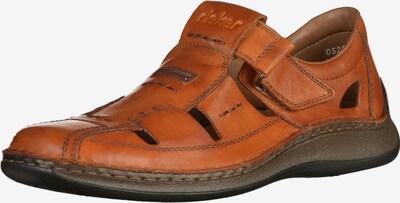 RIEKER Sandale in braun / orange, Produktansicht