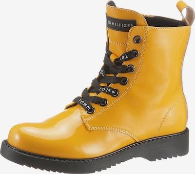 TOMMY HILFIGER Schnürstiefelette in gelb, Produktansicht