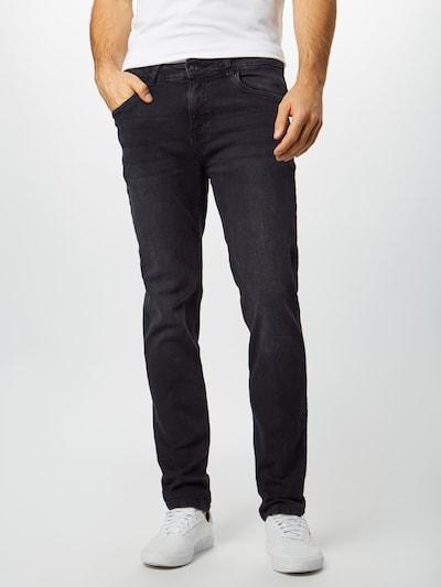 Urban Classics Jeans in black denim: Frontalansicht