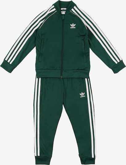 ADIDAS ORIGINALS Set 'SUPERSTAR SUIT' in tanne / weiß, Produktansicht