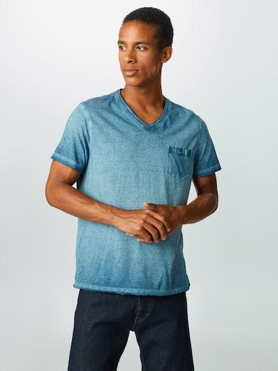 CAMP DAVID Shirt in de kleur Hemelsblauw, Modelweergave