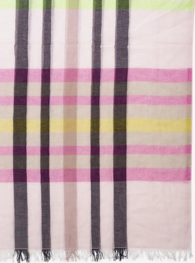 APART Schal mit Karomuster in rosé, Produktansicht