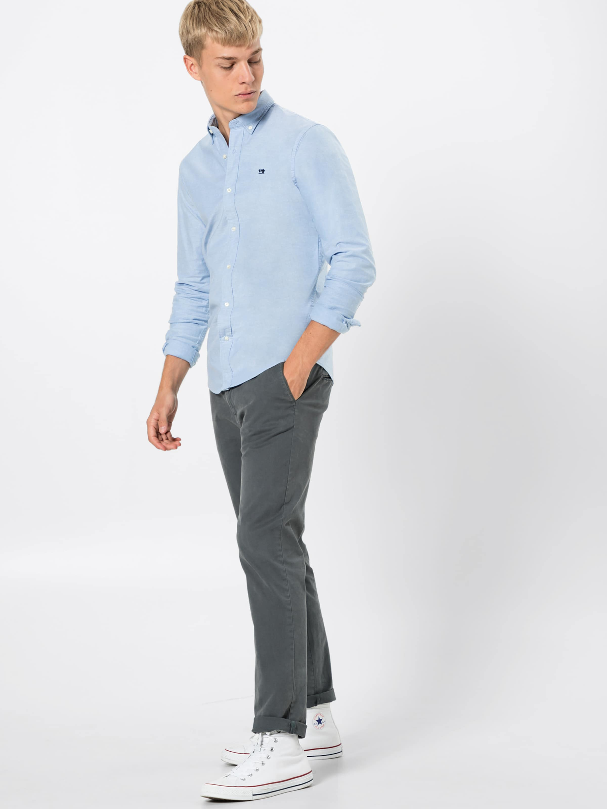 Scotchamp; 'nos Shirt Soda In Hemd Hellblau Contrast With Details' 54AR3SLjcq