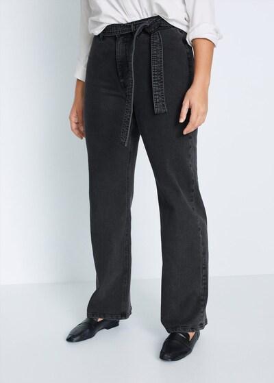 VIOLETA by Mango Jeans 'christie-i' in schwarz: Frontalansicht