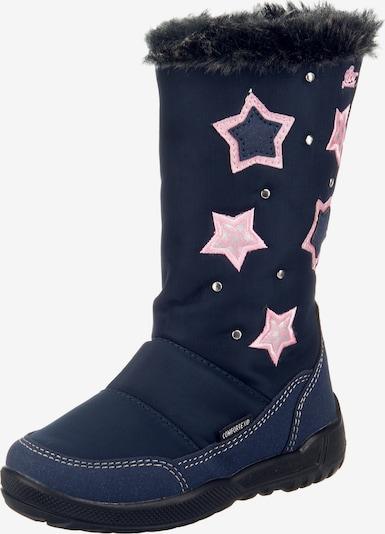 LICO Stiefel in navy / rosa, Produktansicht