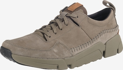 CLARKS Sneaker 'Tri Active Run' in dunkelbeige, Produktansicht