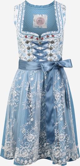 MARJO Kleid '013 Marinka' in hellblau / weiß, Produktansicht